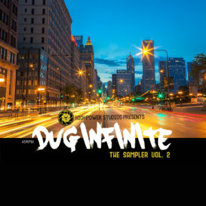 "Dug Infinite ""The Sampler Vol. 2"" Cover Art"