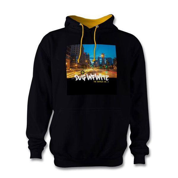 "Dug Inf ""The Sampler Vol. 2"" Hoodie - Black/Gold"